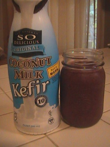 Lovin' me some Coconut Kefir smoothies:)